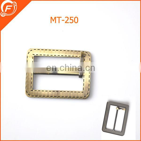 plating metal gold buckle for women belt garments