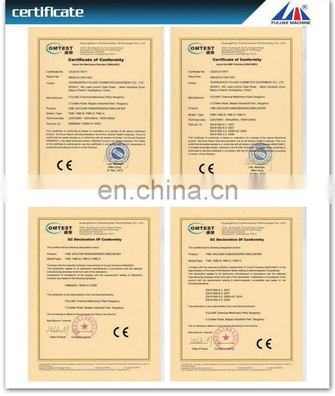 hot selling FML high shear dispersing emulsifeer(intermittent)