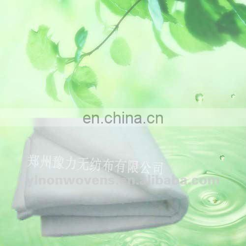 Eco-friendly silky Polyester Microfiber Wadding bedding set filling