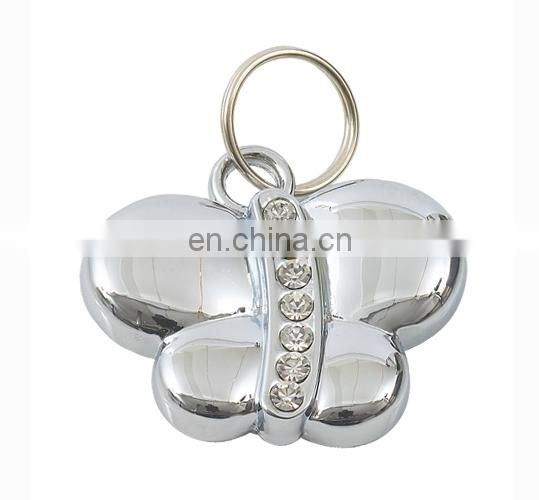 Diamond dog ID tags with gold/ silver plating