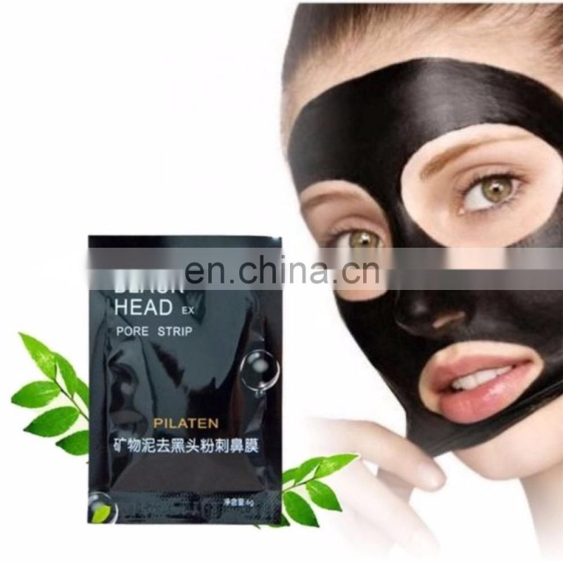 Anti-Wrinkle Blackhead removal nose mask/Blackhead removal deep cleaning mask/Purifying Peel Black Face Mask