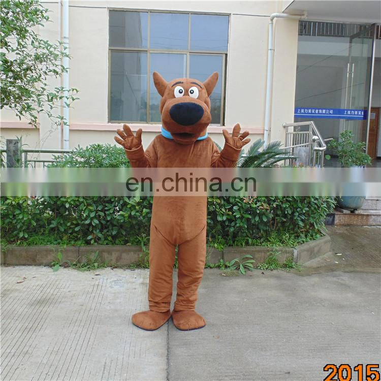 Factory direct sale scooby doo mascot costume for adults