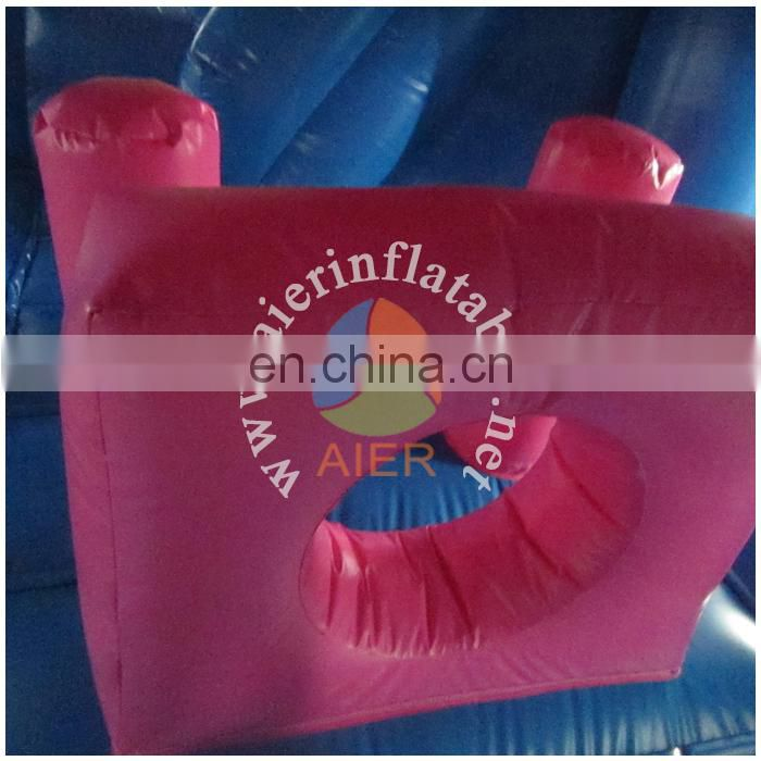 China factory price inflatable frozen bouncy castle / adult baby play toy inflatable bouncer house with slide
