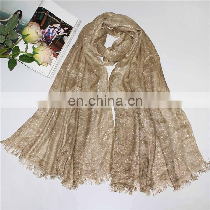 Factory Sequins muslim scarf head hijab for women beautiful scarf