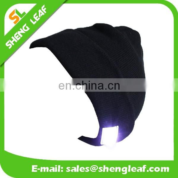 2016 hot sale of knit hat winter with led light