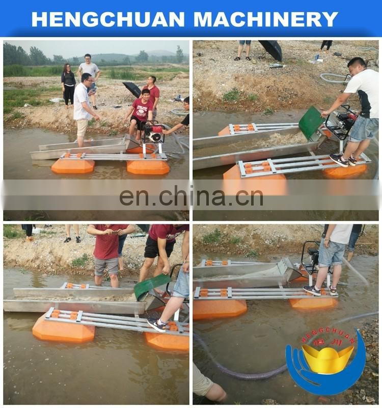 China Mini gold dredger portable