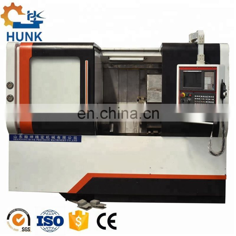 CK50L Low price for CNC Lathe/ CNC Turning center/ Live Tooling Turret Image