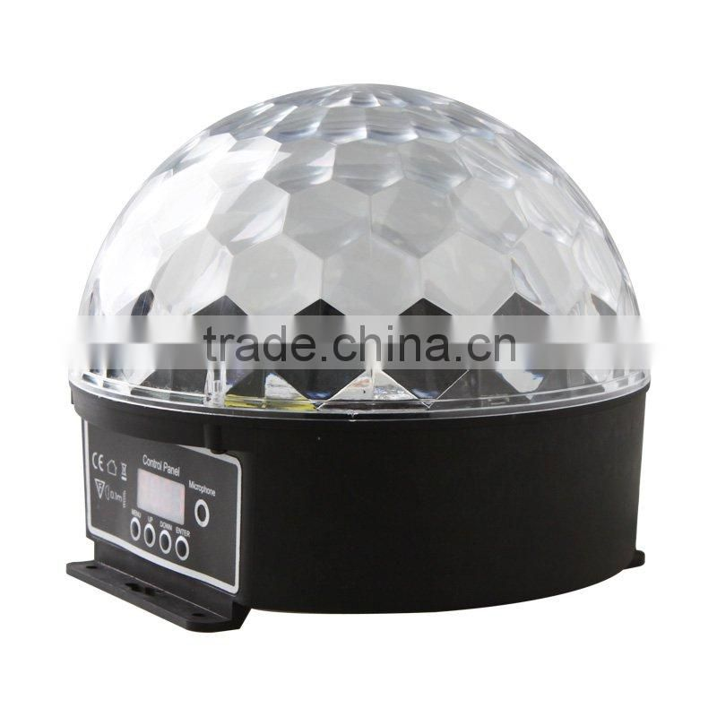 20W DMX RGB LED Globe Light Lamp with Remote Controller