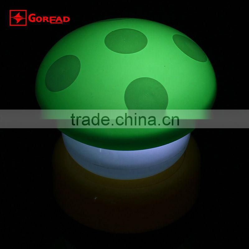 LED Mushroom light night lights Press Down Touch Lamp Night Light 5 color for you to choose