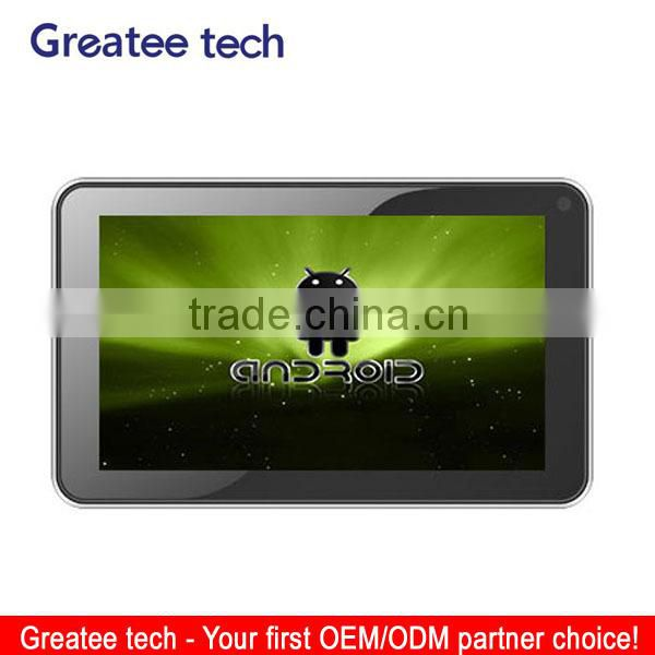 7 inch dual camera dvr android gps navigation
