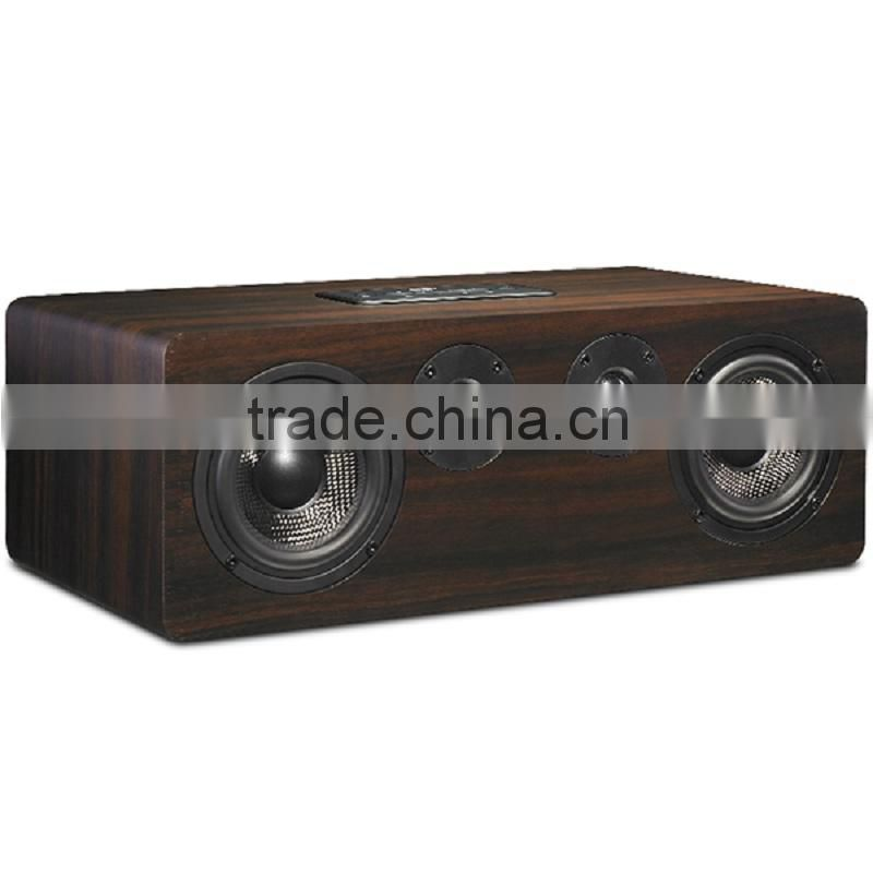 Factory supply high quality wood wifi music box with DLNA Airplay pushing via Android ios app