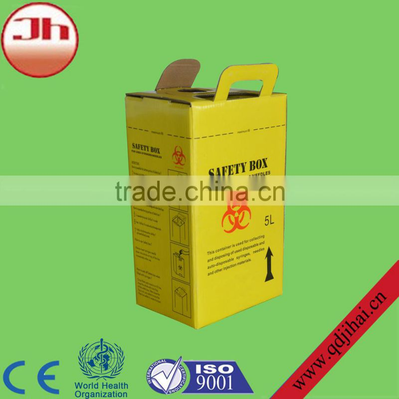 medical consumable item disposable medical safety sharp container