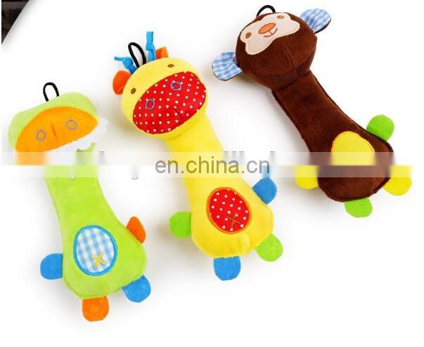 Wholesale plush pet toy child toy pet stroller