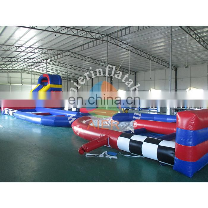2017 Hot selling Inflatable runway, inflatable race track for children and adults,