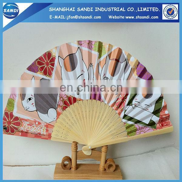 advertising paper hand fan