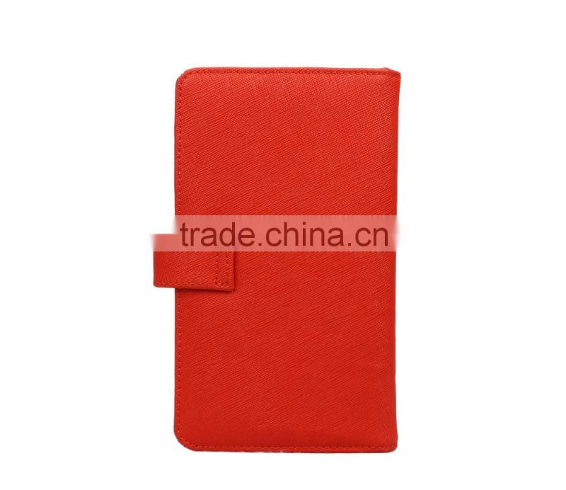2016 custom new design saffiano leather button passport holder passport cover passport case wholesale