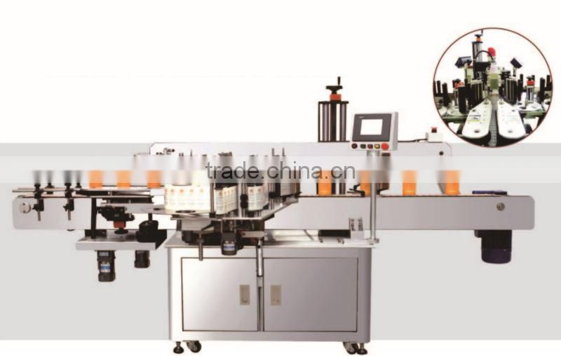 Round bottle fixed point labeling machine