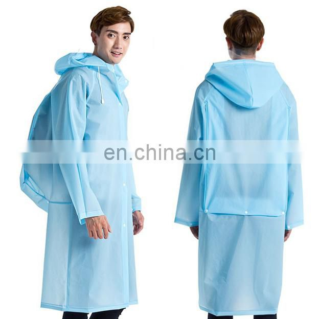 New waterproof M-XL Size raincoat,portable long raincoat for men and wowen