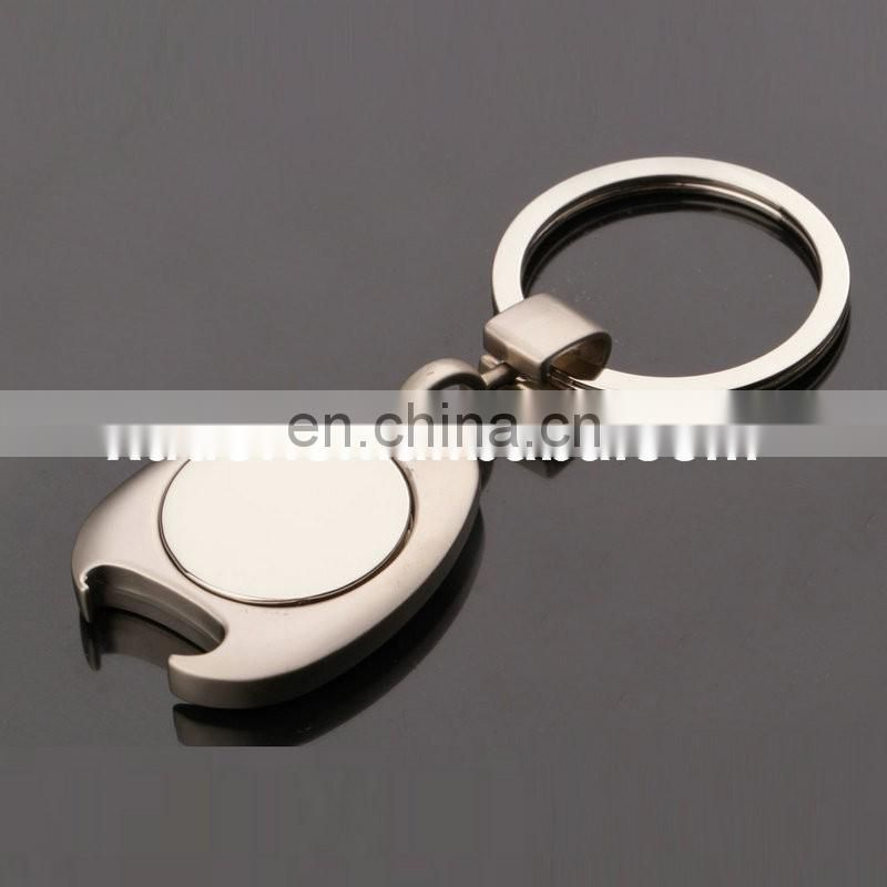 Make Custom Metal Coin Holder Keychain For Promotion