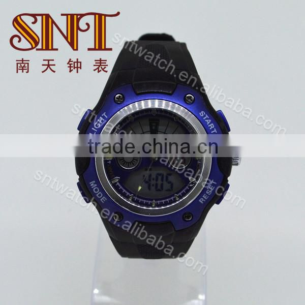 Best selling big face ana-digital watch in 2014