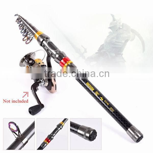 1.8M 2.1M 2.4M 2.7M 3.0M 3.6M Portable Telescopic Carbon Fiber Fishing Rod Fishing Tackle