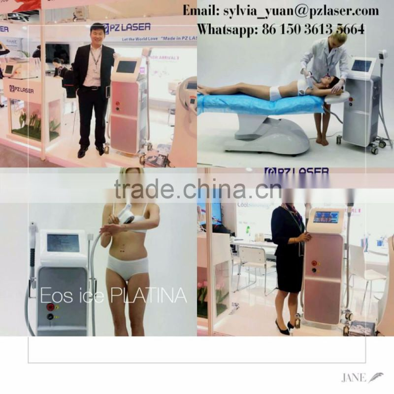 Strong Power!!! 808nm Diode Laser Hair Removal Machine /diode Laser Hair Device / Diode Laser Alexandrite Laser