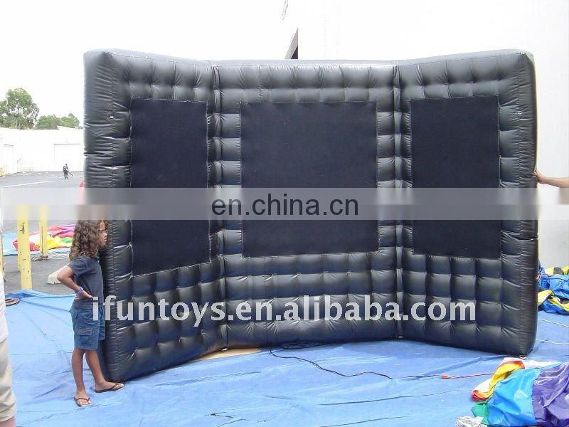 8H x 10W Feet Inflatable straight air wall