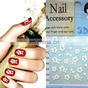 Newest custom 3D Nail decals