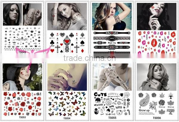 Wholesale cat arm band tattoo/body tattoo sticker/temporary tattoo