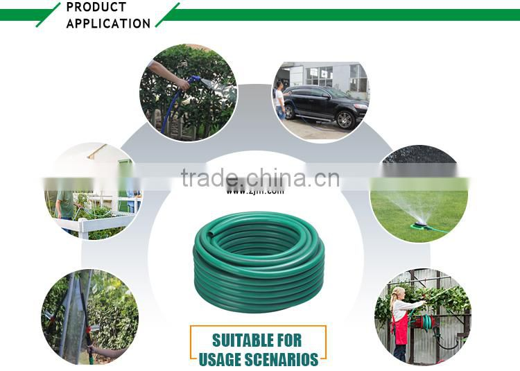 "reinforced 5 layer Heavy duty hose set /1/2"" PVC garden hose with plastic connector"