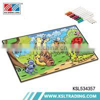 OEM 500pcs hot selling children painting diy paper jigsaw puzzle toys