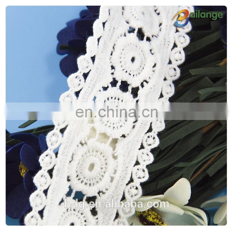Colorful lace fabric for cloth Guangzhou fashion cotton cord-lace-fabric