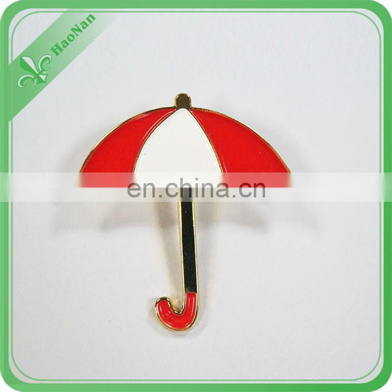 Best selling custom made cloth gold plated lapel pin badge