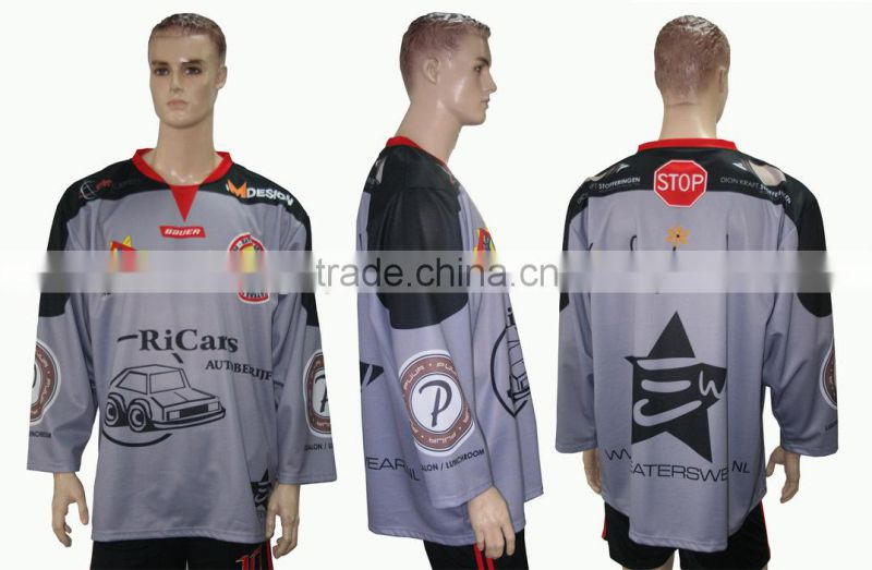 custom sublimation ice hockey wear for team ice hockey
