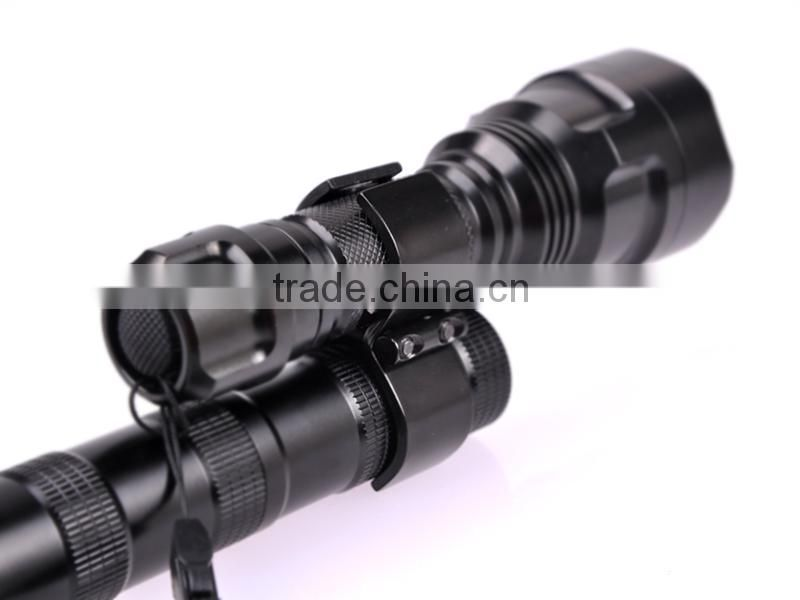 High quality Wholesale Tactical Hunting Flashlight Mount Factory patented products