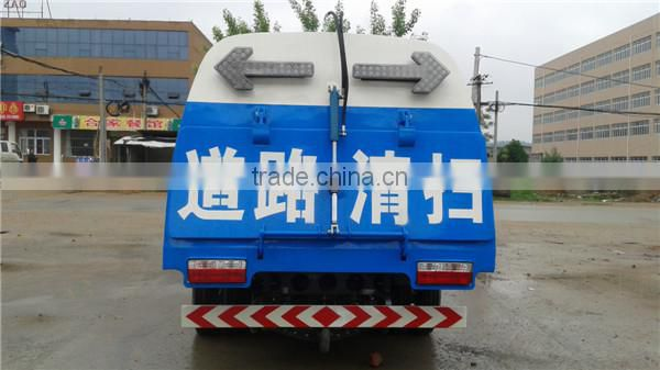 Factory sale China dongfeng euro4 95hp mini street sweeper