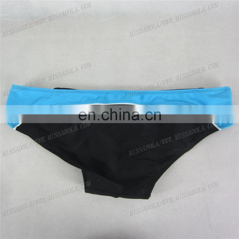 miss adola YD - SM - B02A black latest sexy men swimwear hot swim brief