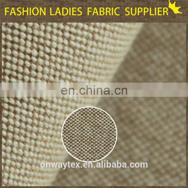 New style High-end soft Home,Hotel,car sitting pillow fabric cotton polyester linen fabric