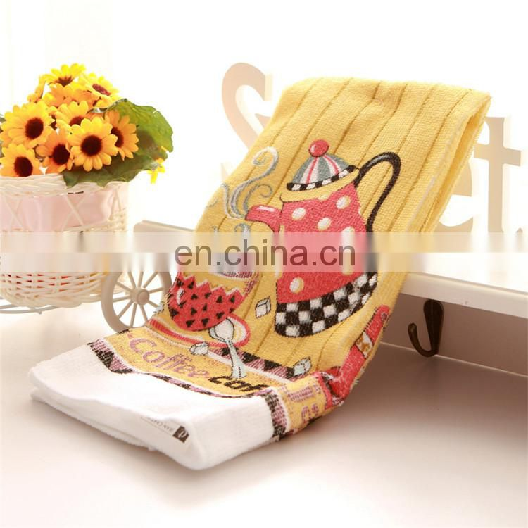 Wholesale 100% Polyester Custom Printing Tea Towel