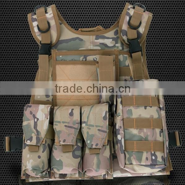 High quality durable buletproof military air soft tactical hunting gear cheap army combat vest military