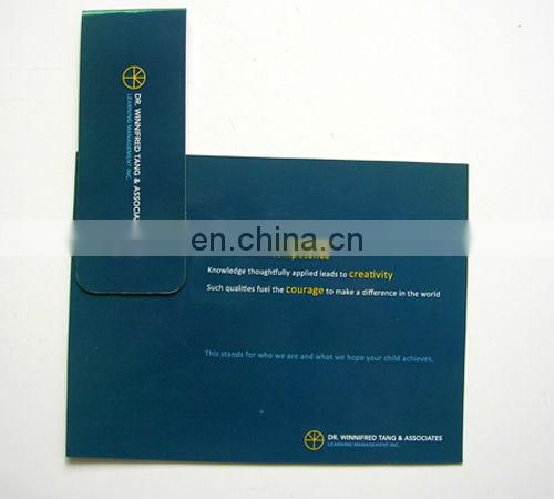 promotional Folding custom magnetic bookmark