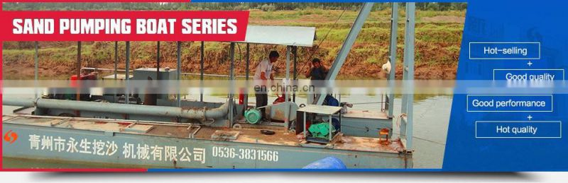 18 inch cutter suction mud dredger HID-5522P for sale