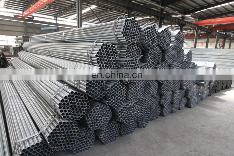 Scaffolding pipe 48.3*2.3*5800mm Round Section Shape and Hot dipped galvanized steel pipe