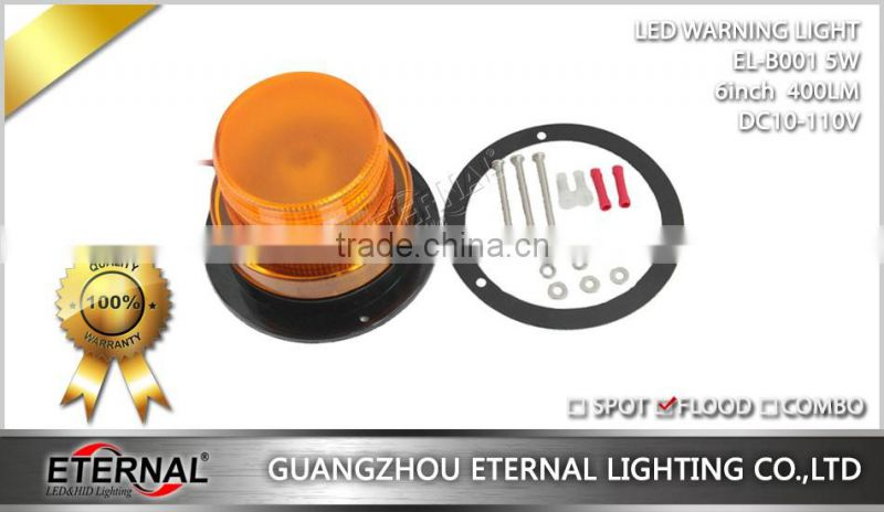 5W led warning light forklift rotating led beacon emergency flash safety light for industry machinery equipment