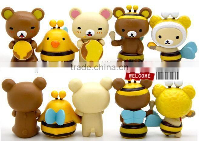 China wholesale pvc custom mini figurine PVC cartoon mini figurine for child PVC Mini Figurine
