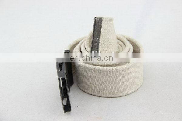 Canvas Belt With Metal Buckle Backpack With Waist Belt