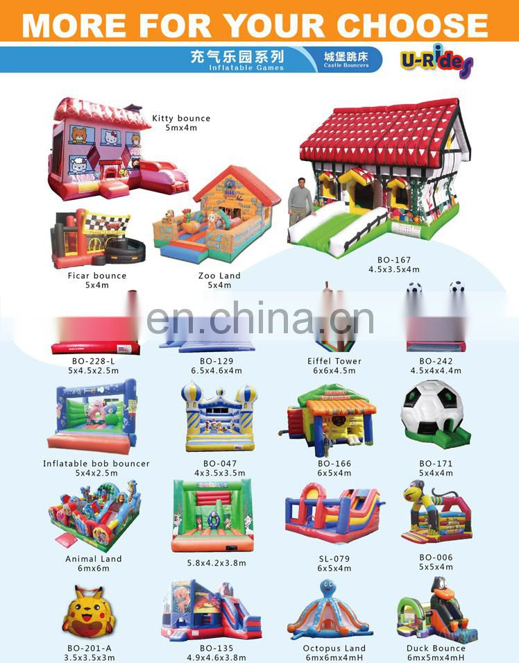 hot sale Inflatable cartoon castle
