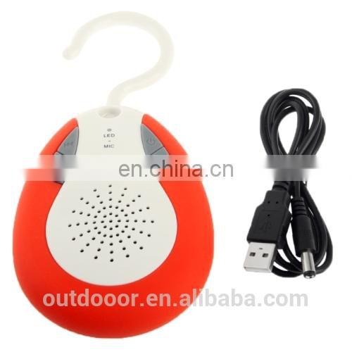 Hybrid Waterproof 3.0 Shower Speaker with Hook for iPhone 5 & 5S