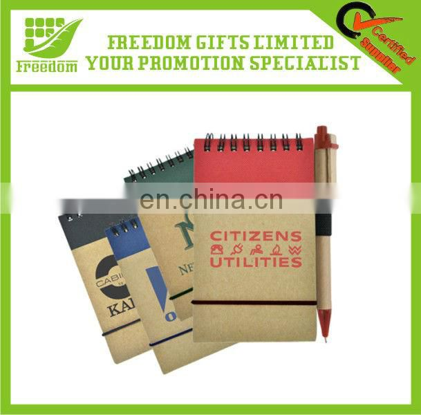 Logo Customized Promotional Recycled Notebook