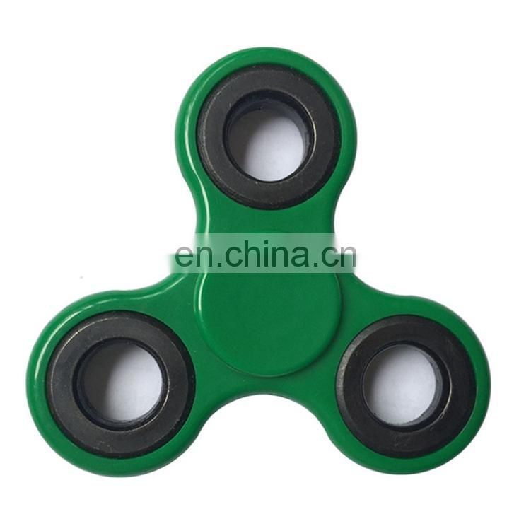 Relieve Stress Color Plastic Metal Bearing Fidget Hand Spinner